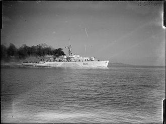 Loch-class frigate - Image: HMS Loch Fyne 1944 IWM FL 6093