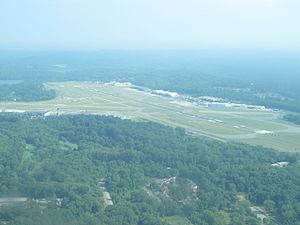 Westchester County Airport - Westchester County Airport (HPN), July 2016
