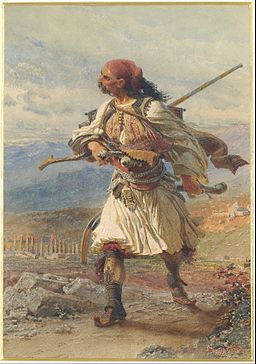 Haag Carl - Greek Warrior - Google Art Project