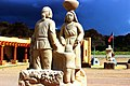 Haaku Museum tour bus Plaza Acoma Pueblo NM.jpg