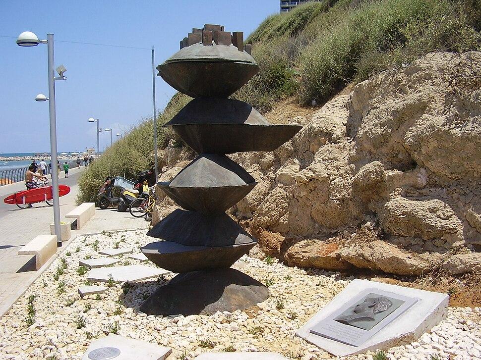 Haim Arlosoroff Memorial in Tel Aviv Beach