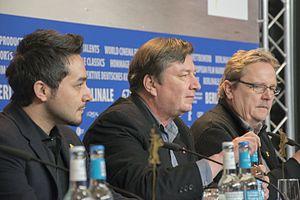 The Other Side of Hope - Image: Haji, Kaurismäki, Kuosmanen at Berlinale 2017