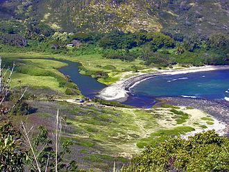 Molokai - Image: Halawa Molokai