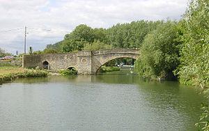 Halfpenny Bridge - Image: Halfpenny Bridge, Lechlade