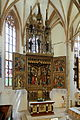 Hallstatt - kath. Kirche, neugotischer Altar.JPG