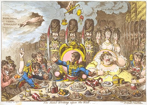 Hand-Writing-upon-the-Wall-Gillray