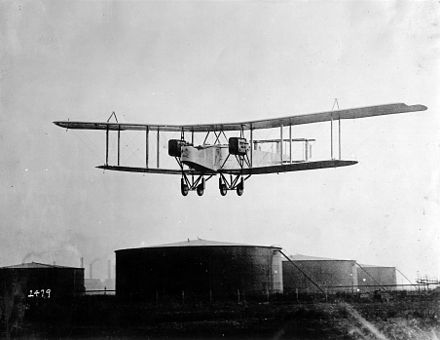 British Handley Page Type O, 1918 Handley Page O-400.jpg