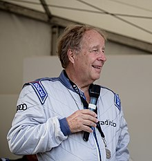 Hannu Mikkola Interview at 2014 Goodwood Festival of Speed (cropped).jpg