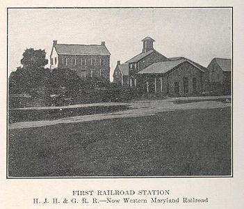 První železniční stanice v Hannoveru