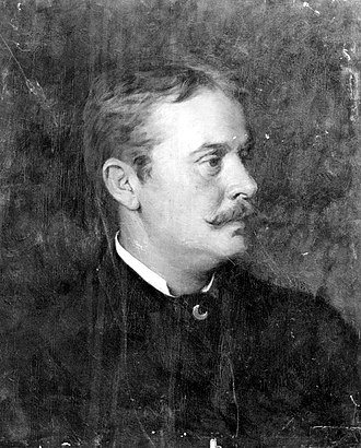 Harry Chase (artist) - Portrait of Harry Chase by Benoni Irwin