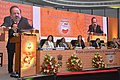 "Harsh Vardhan addressing at the launch of ""India Newborn Action Plan and Guidelines on Newer Initiative for Newborn Health Care"", in New Delhi. Mr. Bill Gates, Ms. Melinda Gates, the Health Secretary.jpg"