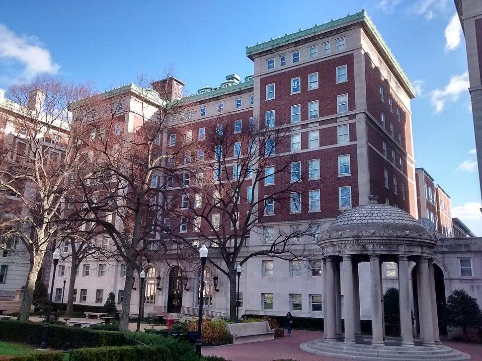 Hartley Hall at Columbia University