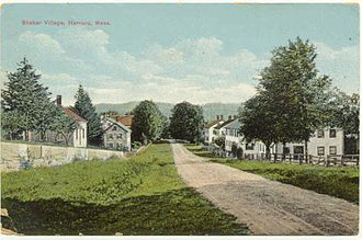 Harvard, Massachusetts - Harvard Shaker Village c.1905
