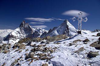 Zermatt - The high summits around Zermatt