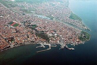 Çanakkale - A view of city center