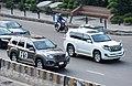 Haval H9 and Toyota Prado, Bangladesh. (43703735494).jpg