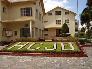 HCJB - The grounds of radio station HCJB in Quito, Ecuador