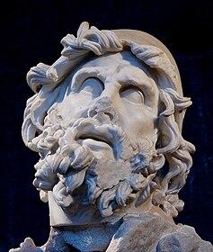 Testa di Ulisse, Gruppo di Polifemo a Sperlonga