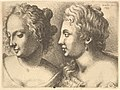 Heads of two young women MET DP823765.jpg