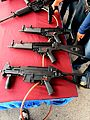 Heckler &Koch MP5s and UMP9 submachineguns.JPG
