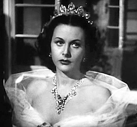 Lamarr in Her Highness and the Bellboy (1945) Hedy Lamarr in Her Highness and the Bellboy trailer.JPG