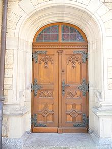 Holztür außen  Tür – Wikipedia