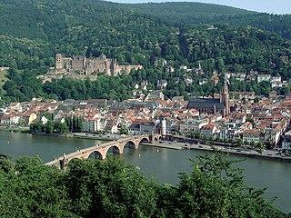 Heidelberg Place in Baden-Württemberg, Germany