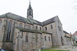 Church of Saint Mary and Saint James at the Heilsbronn Abbey