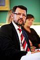 Helge Sander, forskningsminister Danmark, under Nordiska radets session i Kopenhamn 2006.jpg