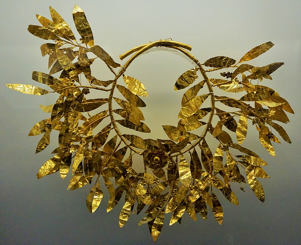 Hellenic Museum, Melbourne - Joy of Museums - Myrtle Wreath