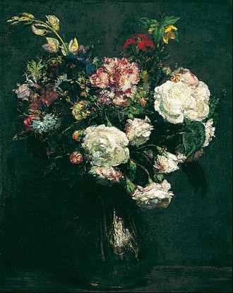 Henri Fantin-Latour - Henri Fantin-Latour - Vase of Flowers