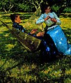 Henry Herbert La Thangue - In The Orchard 1893.jpg
