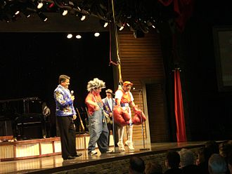 Branson, Missouri - Presleys' Country Jubilee, one of Branson's shows.