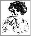 Hermynia Zur Mühlen (late 1920s) drawn by Emil Stumpp.jpg