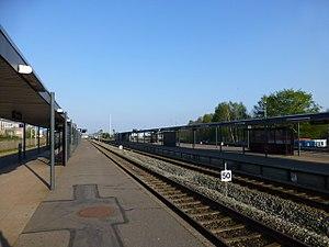 Skanderborg-Skjern Line - Herning station