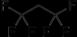 1,1,1,3,3,3-Hexafluoropropane - Image: Hexafluoropropane