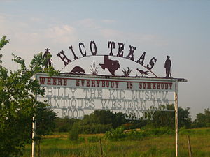 Hico, Texas - Image: Hico sign IMG 0764