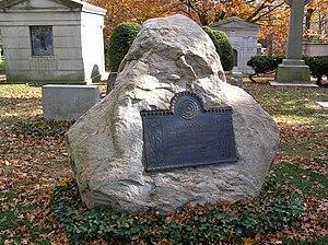 Hideyo Noguchi - The grave of Hideyo Noguchi in Woodlawn Cemetery