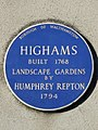 Highams built 1768 Landscape Gardens by Humphry Repton 1794.jpg