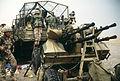 Highway of Death, abandoned Iraqi ZPU-4.JPEG