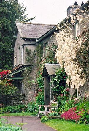 English: Hill Top Farm, Near Sawrey, Cumbria. ...