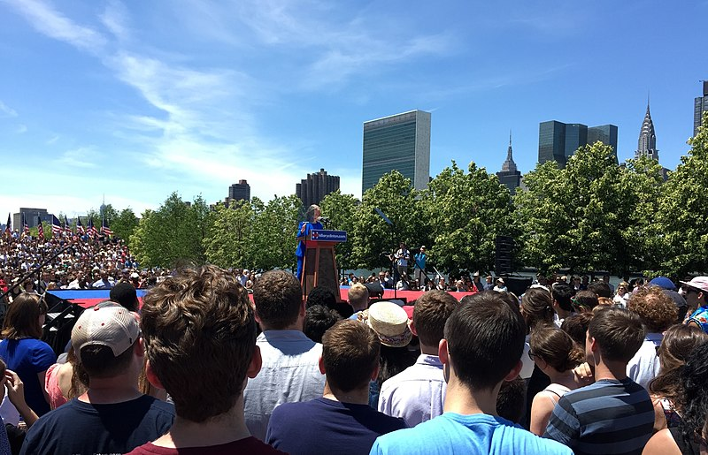 Hillary Clinton 2016 Kickoff %E2%80%94 Speech (Cropped).jpg
