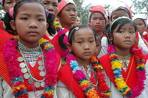 Rangamati Hill District - Tribal children, Rangamati.