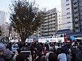 Hinomaru OP-13 OP-12 OP-17 Sky Bus Tokyo for Saitama Seibu Lions Victory Parade 2018.jpg