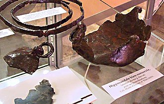 Horseshoe - A hipposandal, a predecessor to the horseshoe