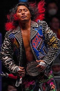 Hiromu Takahashi Japanese professional wrestler