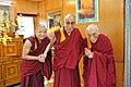 His Holiness the Dalai Lama with His Eminence Choden Rinpoche.jpg