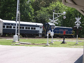 Heart of Dixie Railroad Museum - Image: Hod IMG 3031