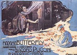 Madama Butterfly, Illustration von Adolfo Hohenstein