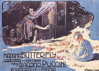 <i>Madama Butterfly</i> Opera by Giacomo Puccini